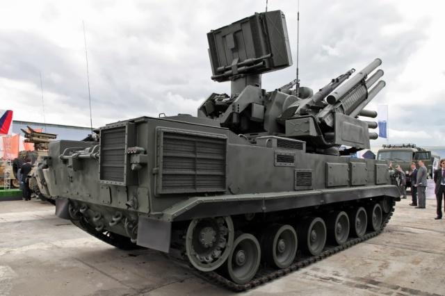 Sistem Pertahanan rudal/senjata jarak pendek mobile,Pantsir-S1 Rusia (SA-8 Greyhound
