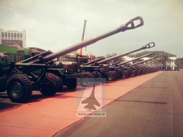 18 Meriam KH-179 Perkuat TNI AD